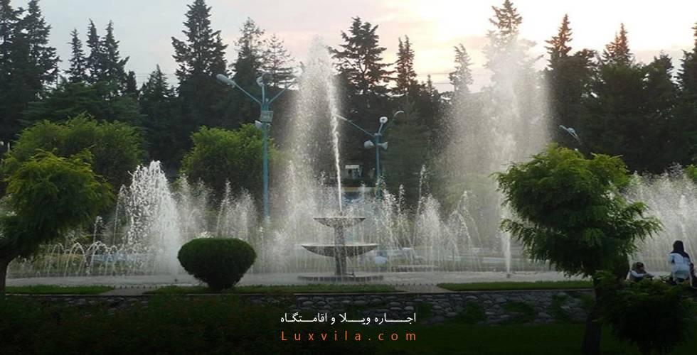 پارک دهکده طلایی آمل