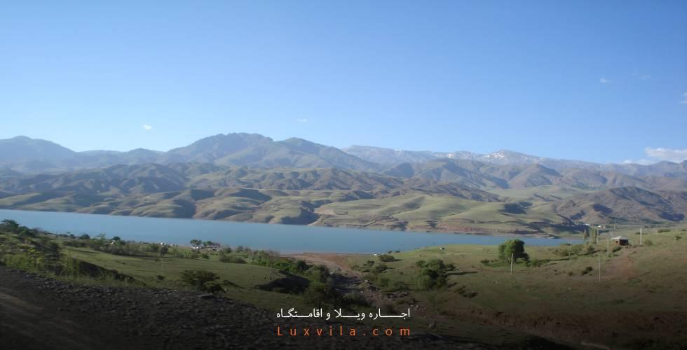 دریاچه و سد زیبای طالقان