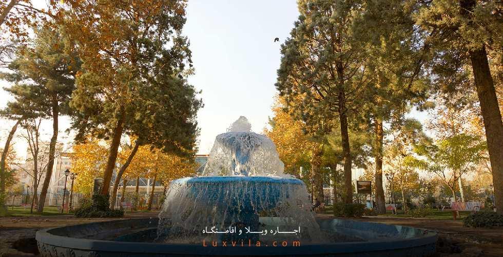 عکس باغ ملی مشهد