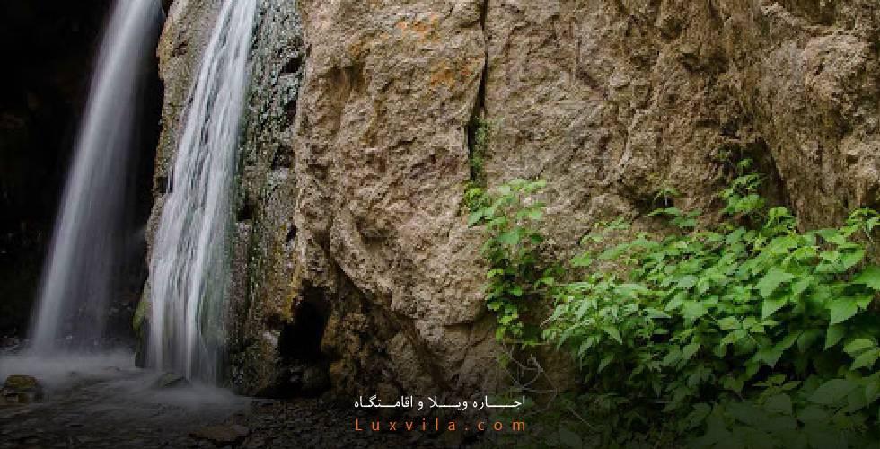 مسیر آبشار قره سو