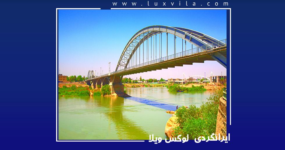 10 جاید دیدنی خوزستان که باید دید