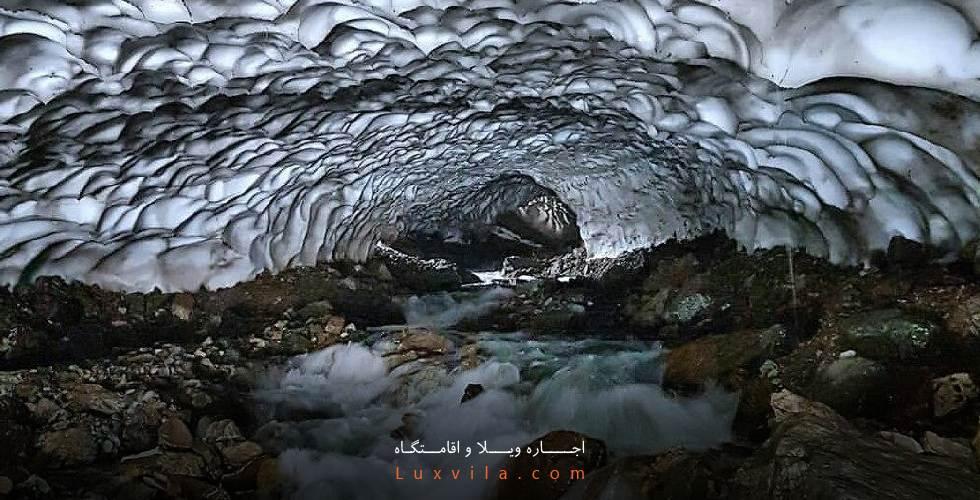 تونل برفی لالون فشم