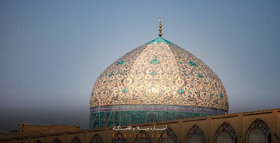 پلان مسجد شیخ لطف الله