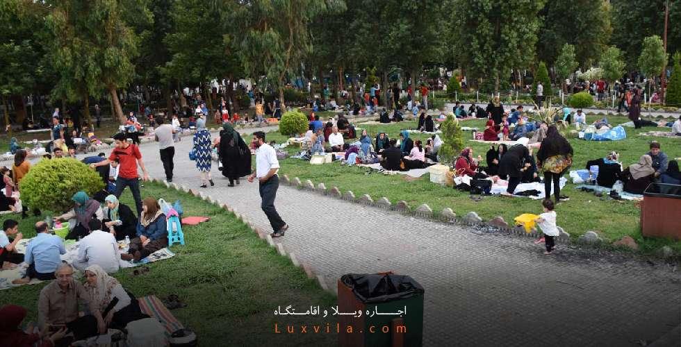 عکس پارک لاله فریدونکنار