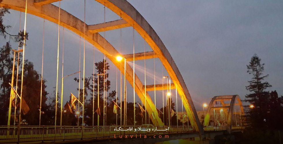 پل فلزی آمل