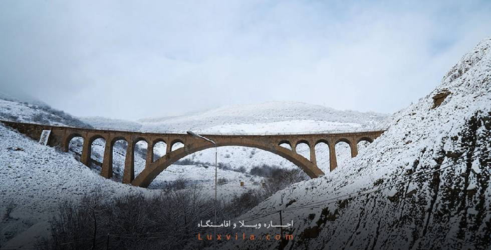 پل ورسک در زمستان