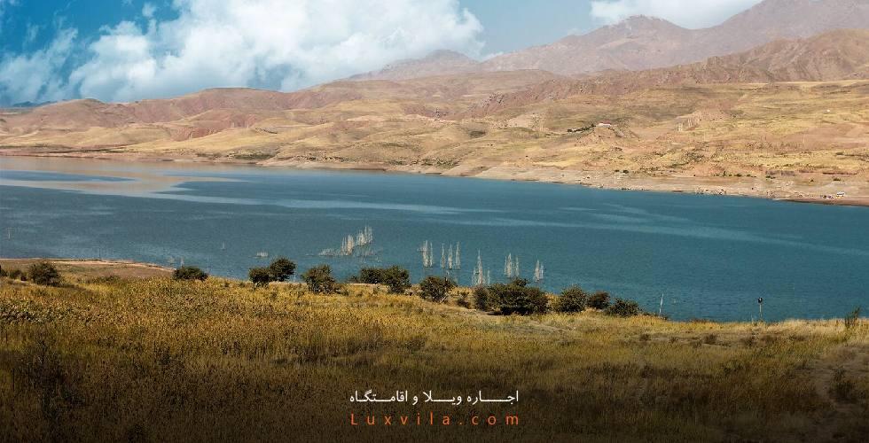 مسیر دریاچه طالقان